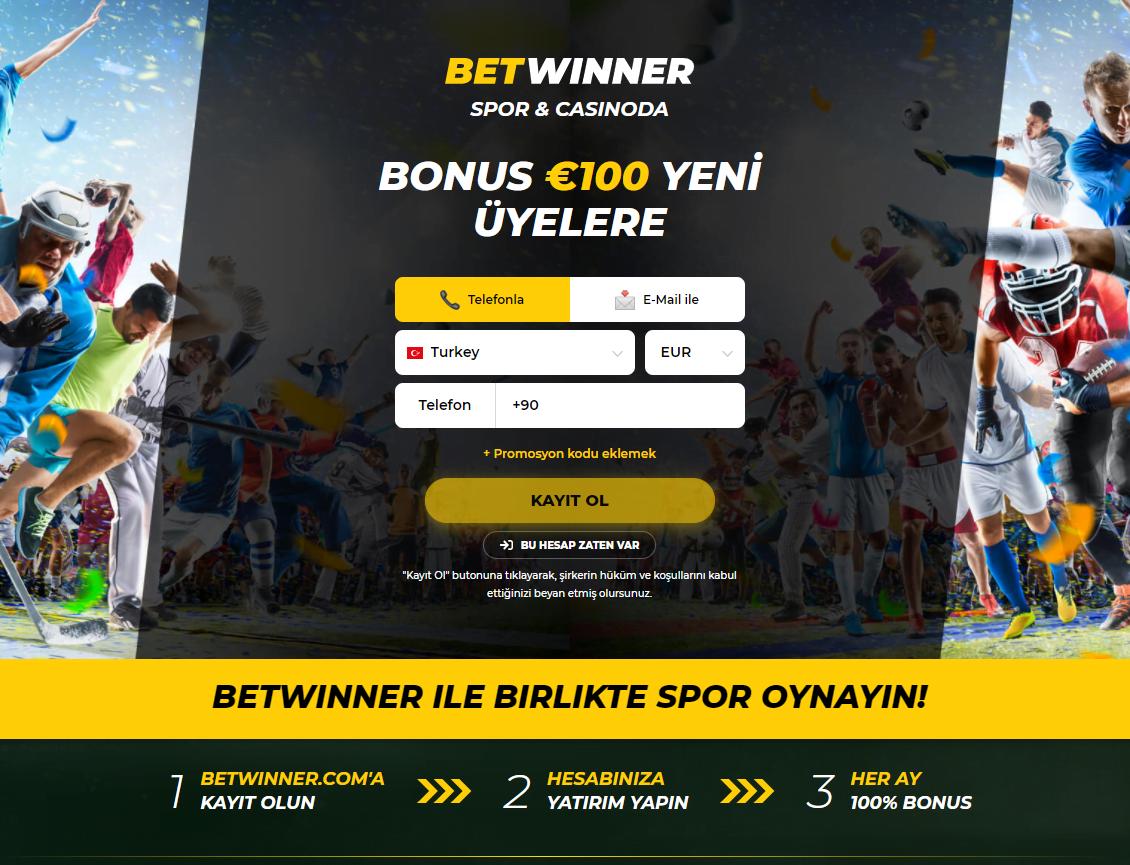BetWinner Bonusları